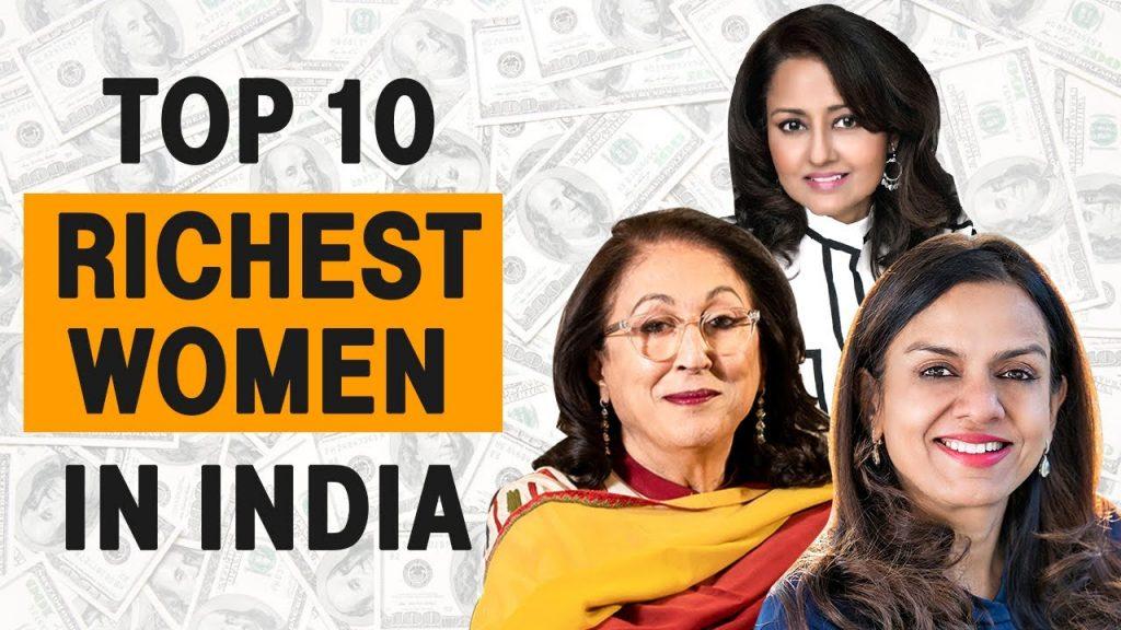 Top 10 Richest Women in India
